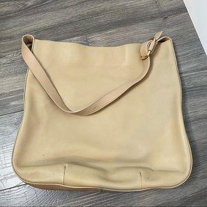 Shinola Detroit luxe tan hobo shoulder bag